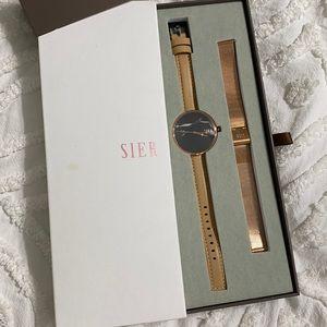 Sier Jord watch set